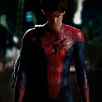 Spider-man shakes off his battle scars