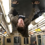 Peter Parker new powers allow him to hang upside down